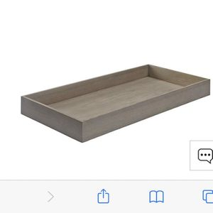 Crate & Barrel Changing Table Topper - Grey Stain Wood for Sale in San Diego, CA