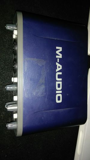 M-audio fast track pro for Sale in Fort Worth, TX