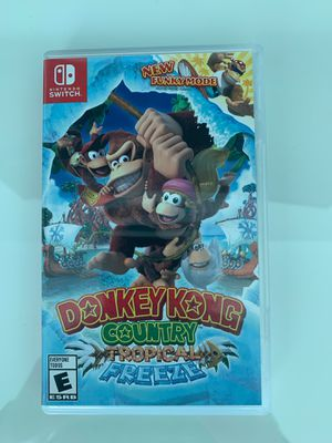 Donkey Kong country tropical freeze Nintendo switch for Sale in Miami, FL