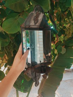 New England Mirror Wall Sconce for Sale in San Diego,  CA