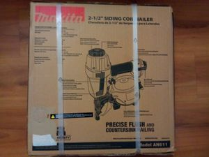 "Makita siding nail gun 2 1/2"" model AN611 new in box for Sale in Snohomish, WA"