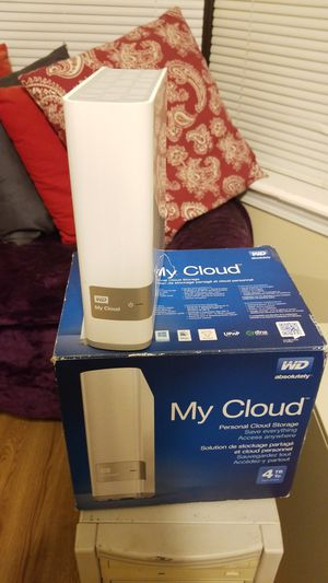 My Cloud 4TB cloud storage for Sale in Tyler, TX