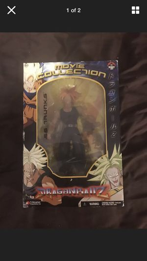 Trunks Dragon Ball Z Collectable action figure for Sale in Philadelphia, PA