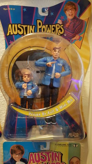 AUSTIN POWERS ACTION FIGURES🤣 for Sale in Everett, WA