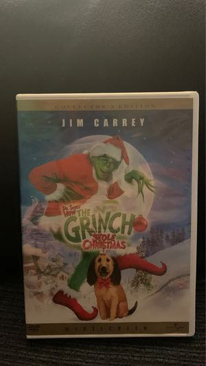 Dr Seuss' How the Grinch Stole Christmas DVD Nee for Sale in Largo, FL