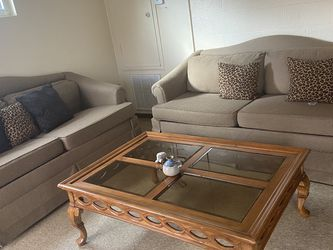 Couches - Both Turn Into Pull Out Bed for Sale in Eustis,  FL