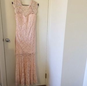 Morgan & Co. Prom/Ball Dress! Lace Size 9-10 Pink for Sale in Jacksonville, FL