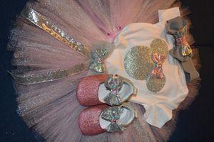 Disney Minnie tutu set 6-12 months old for Sale in Phoenix, AZ