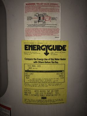 Electric water heater good condition for Sale in Modesto, CA