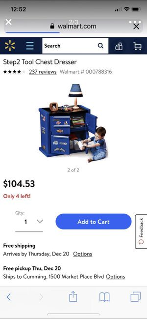 Kid toy dresser new in box for Sale in Cumming, GA