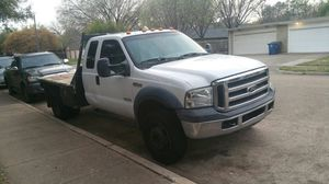 2007 ford f450 flat bed for Sale in Dallas, TX