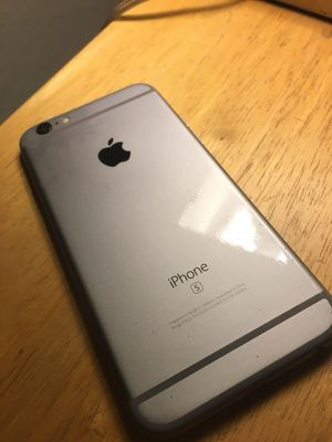 Apple IPhone 6S 64gb unlocked Space Gray for Sale in Santee, CA