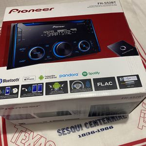 PIONEER Double DIN CD Receiver with Improved Pioneer Smart Sync App Compatibility, MIXTRAX, Built-in Bluetooth for Sale in Dallas, TX