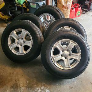 """17"""" Stock Jeep Rims and Michelin Tires for Sale in Preston, CT"""