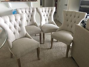 4 dining chairs for Sale in Rockville, MD