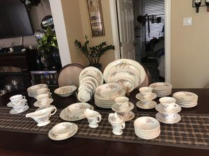 Antique Semi Vitrous China by Edwin Knowles 93pcs for Sale in View Park-Windsor Hills, CA