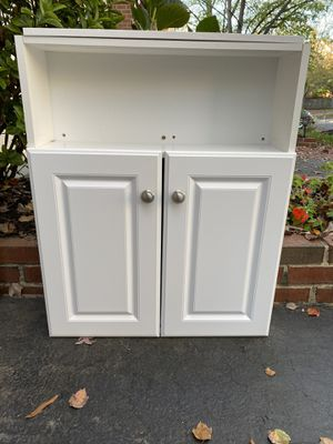 Bathroom Cabinet White with 2 doors for Sale in Alexandria, VA