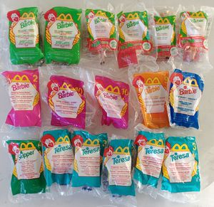 17) BARBIE McDonald's Happy Meal toys 1998-2000 SEALED for Sale in Las Vegas, NV