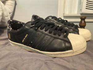 Bape x undefeated x adidas super stars for Sale in Beverly, NJ