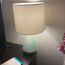 Lamp. Mint And Wood Color for Sale in Garden Grove,  CA