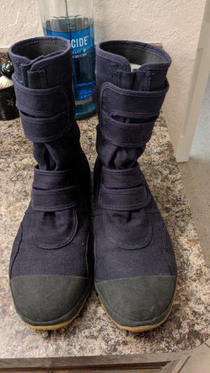 Composite hard toe ninja construction boots from Japan for Sale in Wahneta, FL