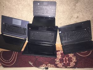 Two toshibas/two hp laptops for Sale in Phoenix, AZ