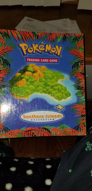 Pokemon card southern collection island binder for Sale in Oswego, IL