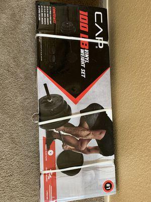 100 lb CAP weight set for Sale in Peoria, AZ