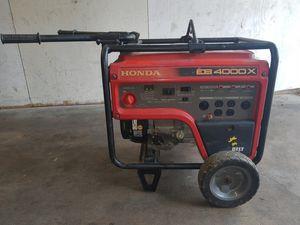 2015 Honda EB400X Generator for Sale in Houston, TX