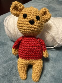 Amigurumi Pooh Bear for Sale in Hazlet,  NJ
