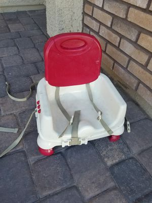 Portable highchair booster seat NO TRAY for Sale in Henderson, NV