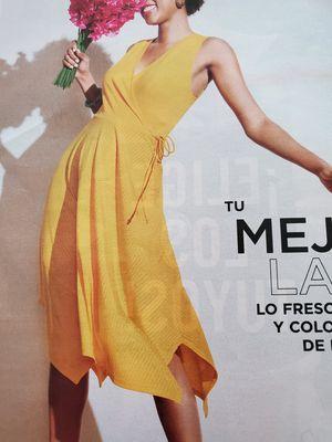 Ribbed Faux-Wrap Dress for Sale in PT PLEAS BCH, NJ