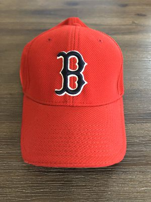 Like New • Boston Red Sox New Era MLB Official Batting Practice Red Baseball Hat • Size: M/L for Sale in Covina, CA