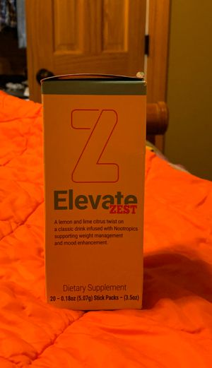 Elevate Zest Box of 20 Stick Packs for Sale in Monroe, LA