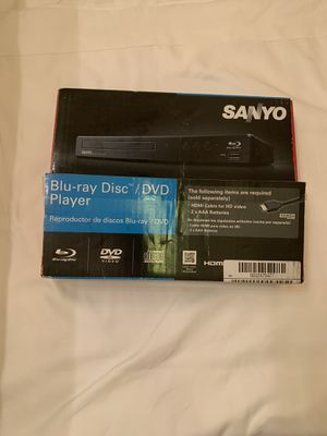 Sanyo Blue-ray /DVD player for Sale in Hayward, CA