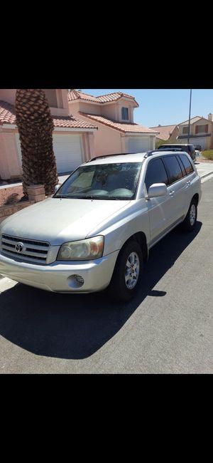 06 Toyota Highlander for Sale in Las Vegas, NV
