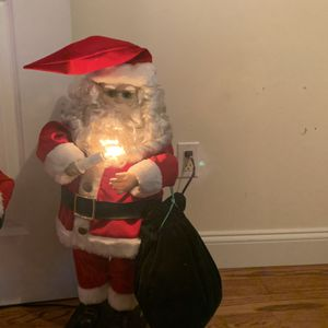 3ft Dancing With Music Santa for Sale in Staten Island, NY