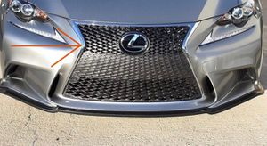 14-16 IS350 OEM front bumper grille for Sale in Westminster, CA