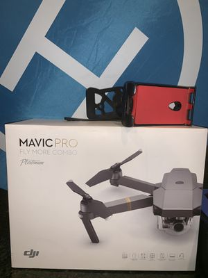 Mavic Pro Combo Platinum Drone for Sale in Kissimmee, FL