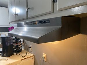 NuTone Stove 30 Inch Ductless under Cabinet Range Hood With light Stainless Steel for Sale in Tull, AR