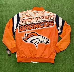 NEW! Denver Broncos NFL Apparel Fanamation Jacket. New with tag! for Sale in Tamarac, FL