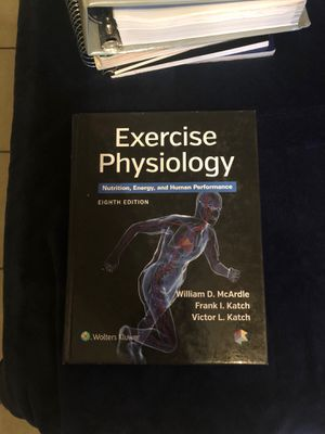 Exercise physiology complete book for Sale in Chico, CA