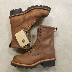 NEW Red Wing steel toe logger boots size 11.5 for Sale in Houston, TX
