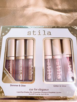 Stila shimmer & glitter. Eye shadow 6 colors for Sale in Sioux City, IA