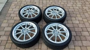 17x7 ADR Sokudo 10's with Toyo Proxes Tires for Sale in Syosset, NY