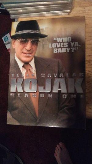 Season 1 of Kojak. for Sale in Rancho Cucamonga, CA