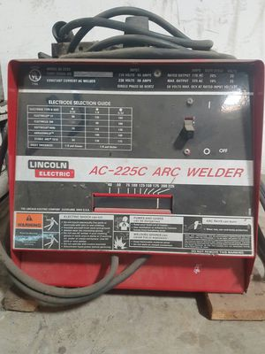 Lincoln Arc Welder for Sale in Corona, CA