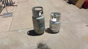 Propane bottles $120 for 2 for Sale in Denver, CO