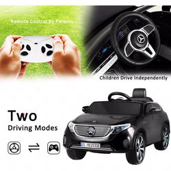 🎉!!BRAND NEW 12V LUXURY EUROPEAN REMOTE CONTROL Electric Kid Ride On Car Power Wheels Mercedes Benz 4MATIC with FM RADIO and Bluetooth for Sale in Whittier,  CA