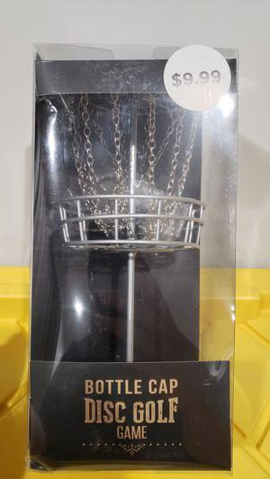 Bottlecap Disc Golf Game Gift for Sale in Norwalk, CA